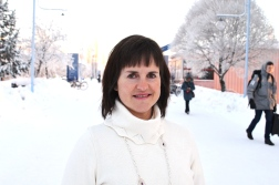 Marta-Lena Antti, researcher and chair in Engineering Materials at Luleå University of Technolgy