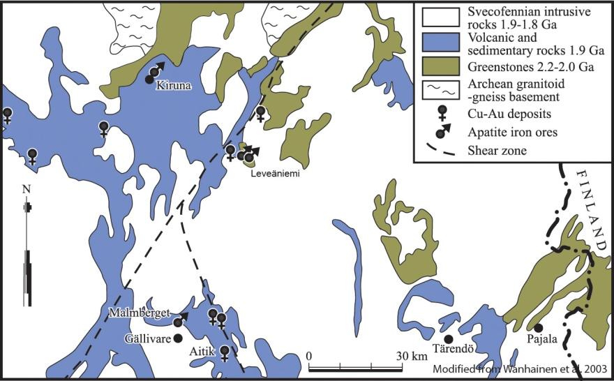 Karta Zinkgruvan.Microanalysis Of Magnetite Lulea University Of Technology