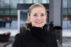 Press Photo - Fire Protection Engineer Helena Klasson - LTU Alumni -