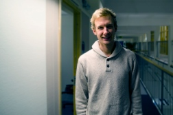 Fredrik Andersson, a student on the MSc Sustainable Process Engineering
