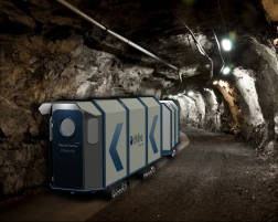 New protective chamber for deep mines