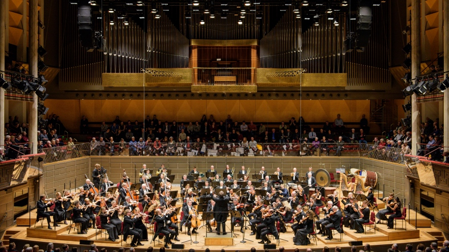 Royal Stockholm Philharmonic Orchestra in Stockholm Concert Hall