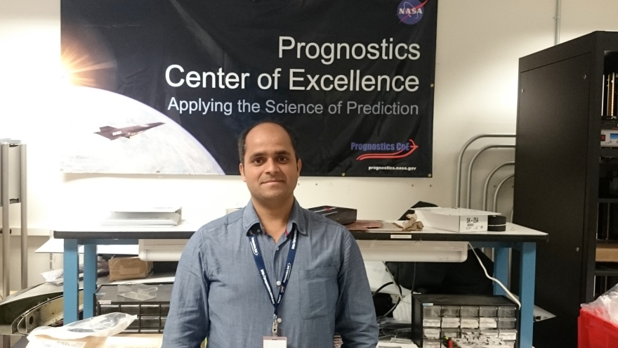 Madhav Mishra, PhD from Luleå at NASA