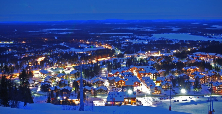 Levi, Finland. Image source: Wikimedia Commons