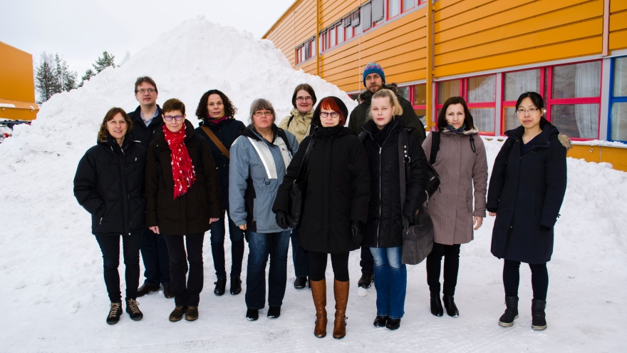 Min-North Research Group in Luleå 2016
