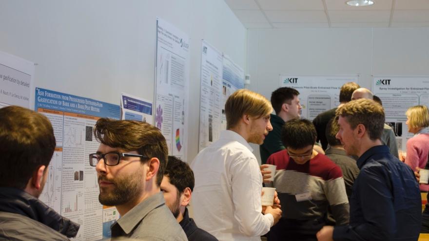 De två workshops vi haft fungerar som en matchmaking bland forskare i de tyska och svenska konsortierna.