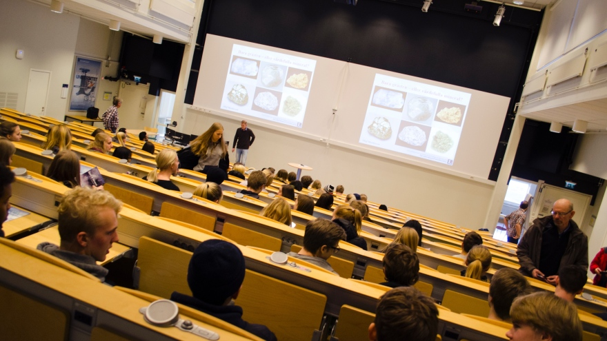 Geodag at Luleå University of Technology in 2016.