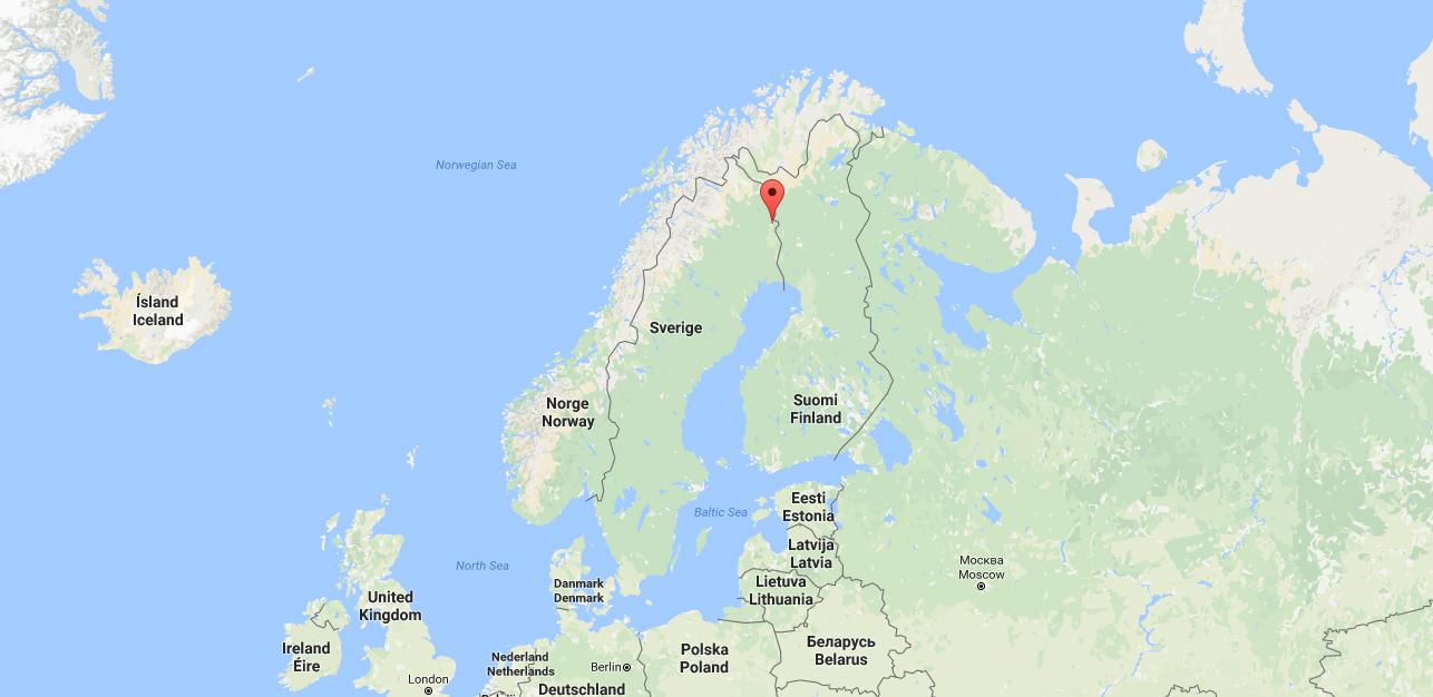 Karta Sverige Pajala.In The Media Funding For Test Bed Mining Technology In Pajala