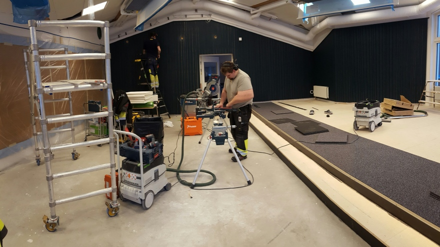 VR-Studio installation at Luleå University of Technology, 2017.