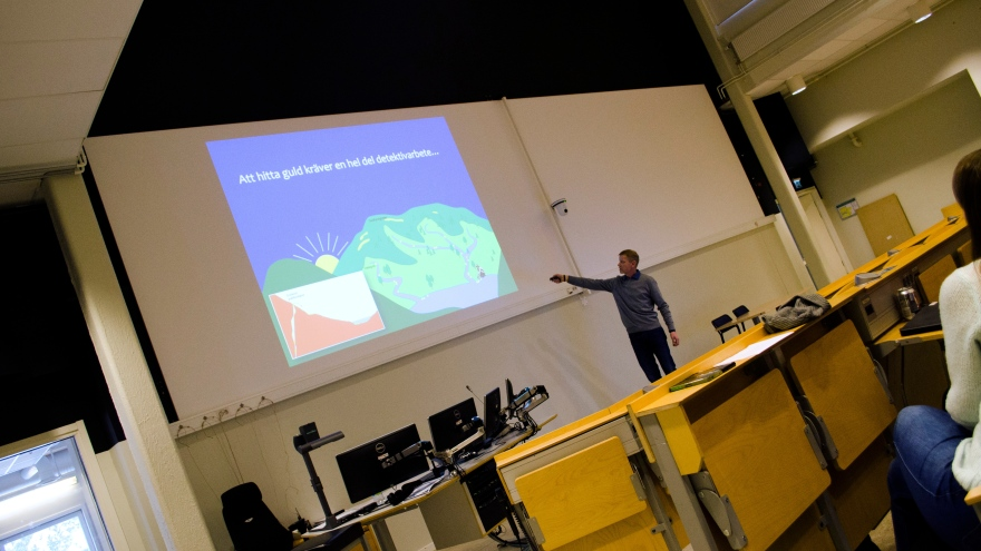 Geo Day at Luleå University of Technology in 2017