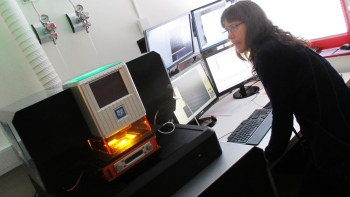 Laser Ablation ICP-MS Lab Demo Day LTU 2017 Foto: Richard Renberg