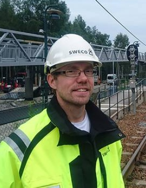Andreas Fridholm Photo: Sweco
