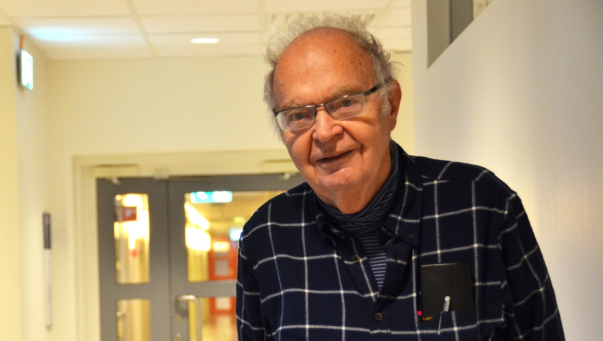 Legend In Computer Science Visited The University Lulea University