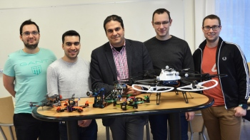 The Robotics Group at Luleå University of Technology Photo: Linda Alfredsson
