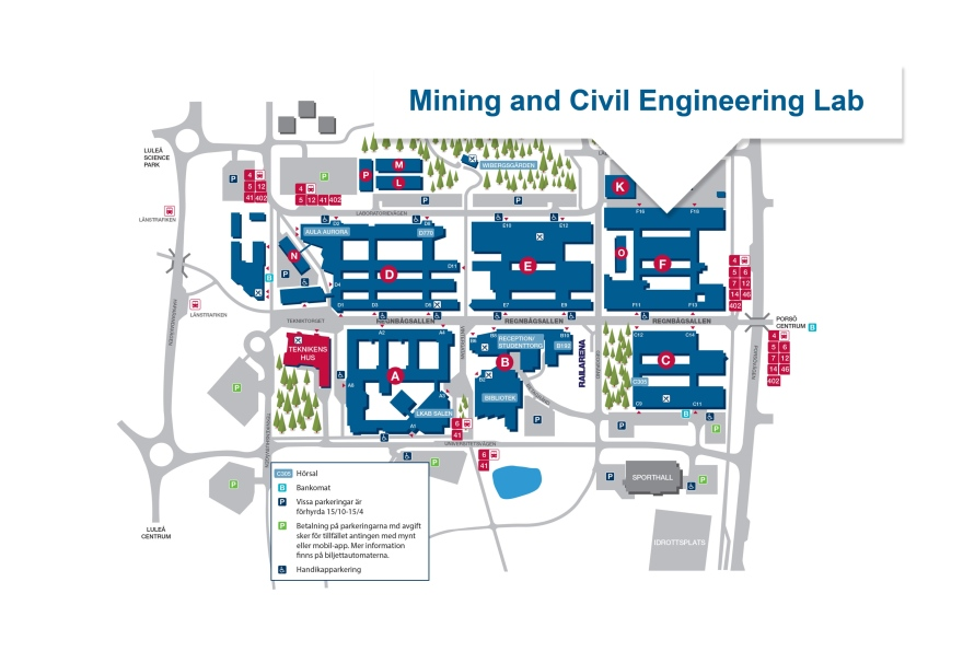 Map - Mining and Civil Engineering Lab