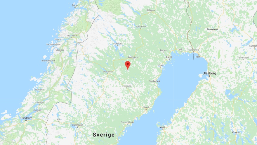Karta Zinkgruvan.In The Media Core Samples Can Become Gold Mine In Lapland Lulea