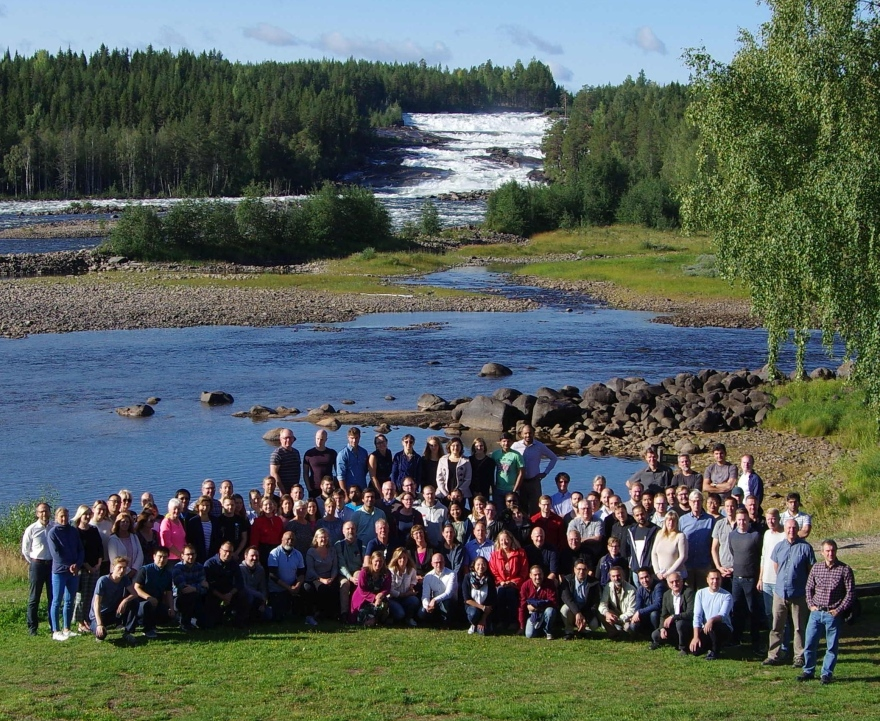 Gruppfoto SBN 2018 - Storforsen, Aug