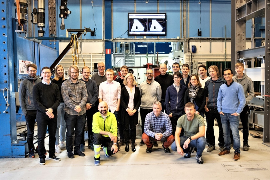 Representatives of the Norwegian hydropower industry have visited the MCE lab at Luleå University of