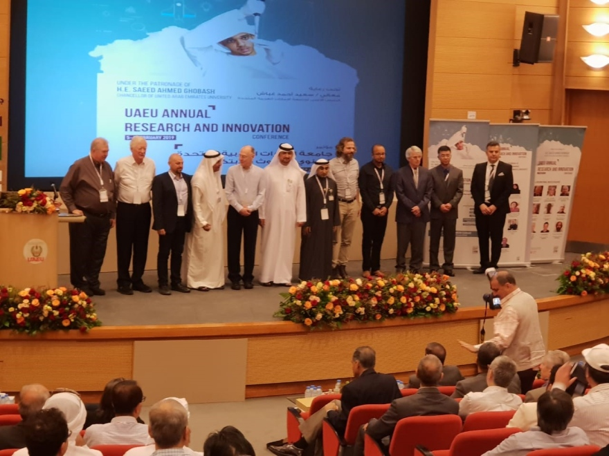 Chaired Professor Javier Martin-Torres has been invited as expert in United Arab Emirates University