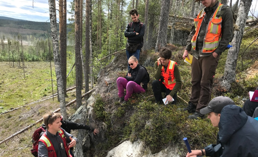EXplORE is a EIT RawMaterials-supported MSc exchange program between Luleå University of Technology