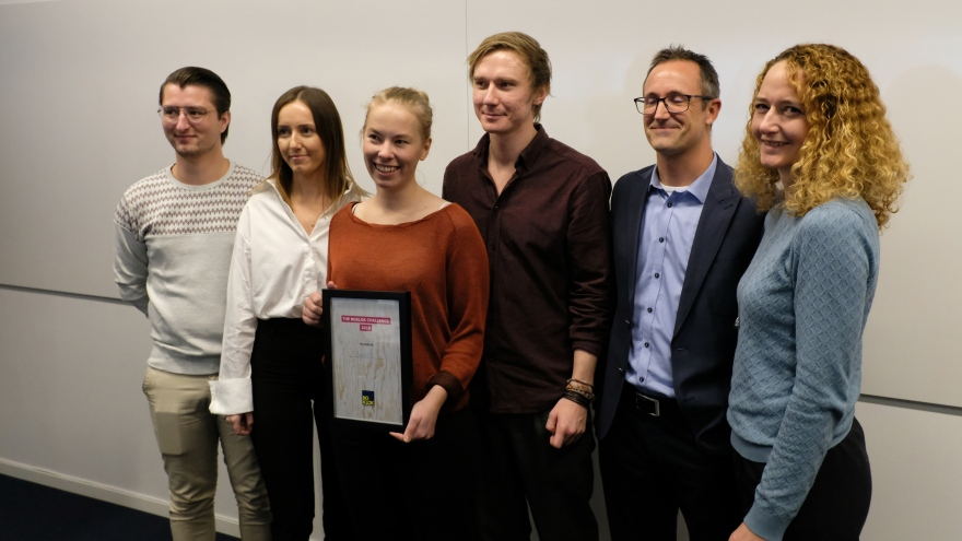 Winner BoKloks Prize 2019 in Draknästet - Group Sort ID with an innovation for sustainability. Photo: Richard Renberg