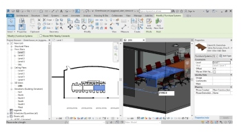 Examples of GUI in Building Information Modeling (BIM)