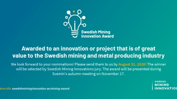 Swedish Mining Innovation Award