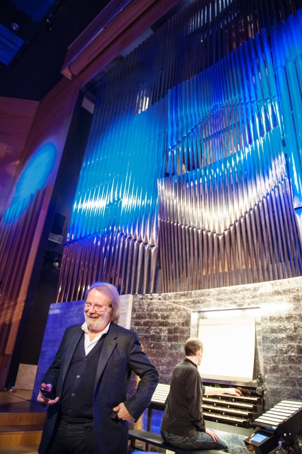 Luleå University of Technology Organ - Benny Andersson Photo: Karl William